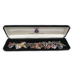 Disneyland 50th Anniversary Charm Bracelet by Shag.