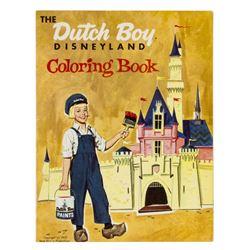 """The Dutch Boy Disneyland Coloring Book""."