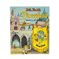 "Unused ""Let's Build Disneyland"" Activity Book."