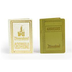 Pair of Unused Disneyland Address & Telephone Books.