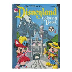 1965 Disneyland Coloring Book.