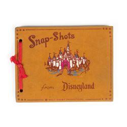 """Snap Shots from Disneyland"" Unused Photo Album."
