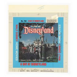 "Color Separations for ""A Day at Disneyland"" Film Box."