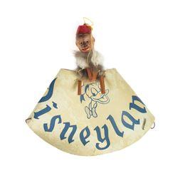 Disneyland Souvenir Organ Grinder Monkey Hat.
