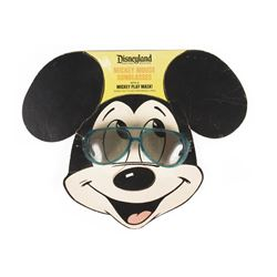 Mickey Mouse Sunglasses with Character Play Mask.