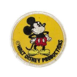 Walt Disney Productions Mickey Patch.
