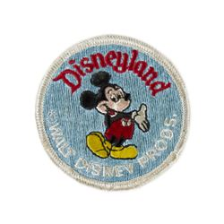 Walt Disney Productions Disneyland Mickey Patch.
