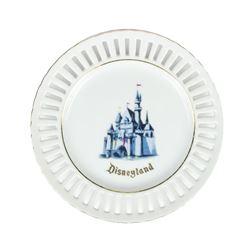 Disneyland Ceramic 'Slotted' Plate.