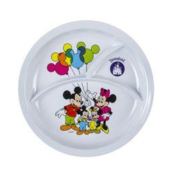 Three-Compartment Disneyland Souvenir Plate.