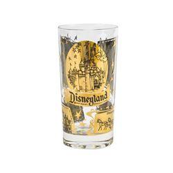 Disneyland Gold-Tone 5-Lands Glass.