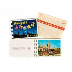 "Pair of ""Disneyland Hi-Lites"" Photo Mailers."