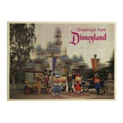 Disneyland 3-D Costumed Characters Postcard.