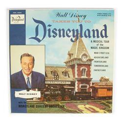 """""""Walt Disney Takes You to Disneyland"""" Record."""