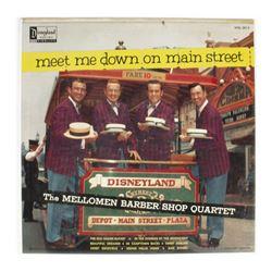 """Meet Me Down on Main Street"" Disneyland Record."