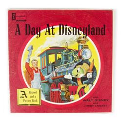"""A Day at Disneyland"" Record & Illustrated Book."