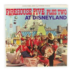 """Firehouse Five Plus Two at Disneyland"" Record."
