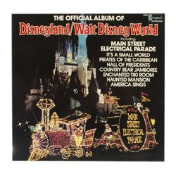 """The Official Album of Disneyland/Walt Disney World""."