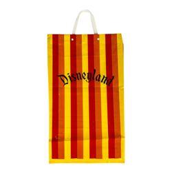 Disneyland Striped Shopping Bag.