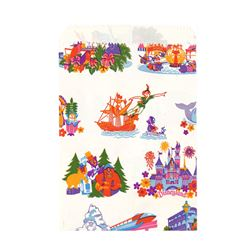 Disneyland Attractions Shopping Bag.