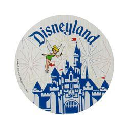Tinker Bell & Sleeping Beauty Castle Unused Sticker.