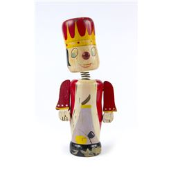 Disneyland Hand-Painted King Coin Bank.
