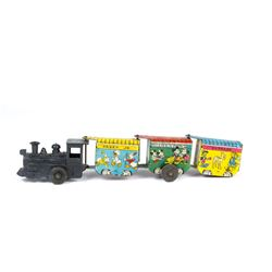 Disneyland Wind-Up Toy Train by Marx.