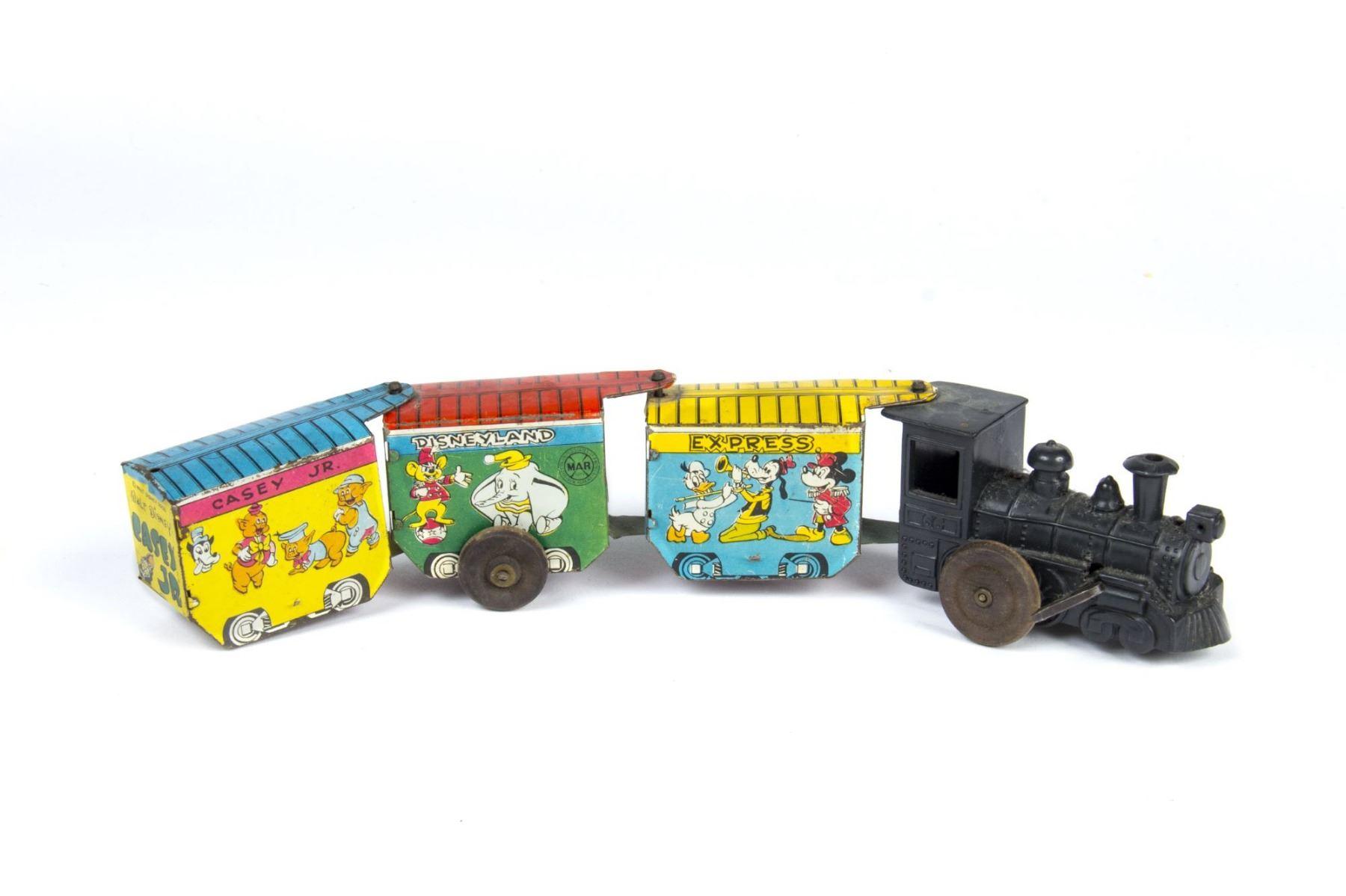 Disneyland Wind-Up Toy Train by Marx