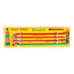 Disneyland Magic Pencil Set.