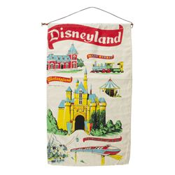 Disneyland Attraction Tapestry.