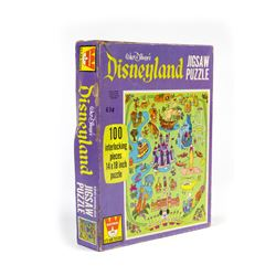 Disneyland Map Jigsaw Puzzle.