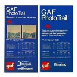 "Pair of ""GAF Photo Trail"" Park-Used Signs."