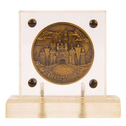 Disneyland 20th Anniversary Commemorative Medallion.
