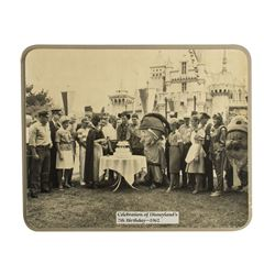 Large Photo of Disneyland's 7th Birthday.
