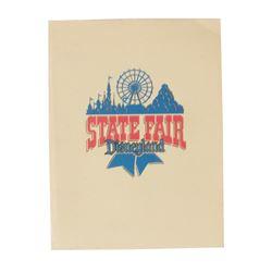 """Disneyland State Fair"" Press Packet."
