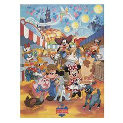 Disneyland State Fair Souvenir Poster.