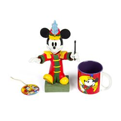 Collection of (3) Band Leader Mickey Souvenirs.