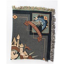 "Disneyland ""The Original"" Throw Blanket."