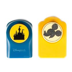 Mickey Mouse & Sleeping Beauty Castle Paper Punchers.