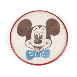 "Mickey Mouse ""I Like Disneyland"" Lenticular Button."