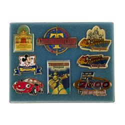 Collection of (8) Disneyland Milestone Pins.