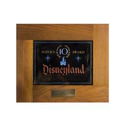 Disneyland Tencennial 10-Year Service Award.