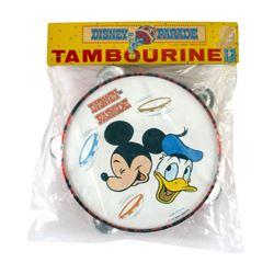 """Disney on Parade"" Unopened Tambourine."