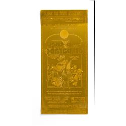 """Disney on Parade"" Promotional Flyer Printing Plate."