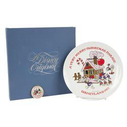 """Very Merry Christmas Parade"" Plate & Ornament."