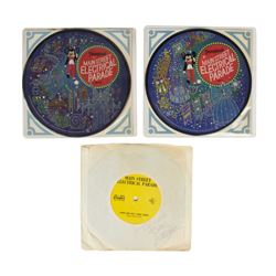 "Set of (3) ""Main Street Electrical Parade"" Records."