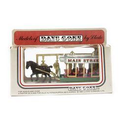 Main Street Horse-Drawn Trolley Diecast Model.