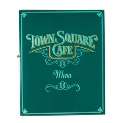 """Town Square Cafe"" Menu."