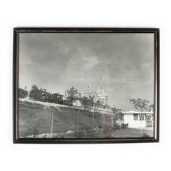 """Disneyland Railroad"" E.P. Ripley Locomotive Photo."