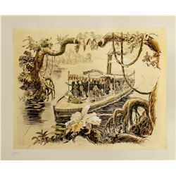 "Harper Goff ""Jungle Cruise"" Concept Art Print."