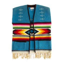 "Disneyland ""Mexican Village"" Souvenir Wool Vest."